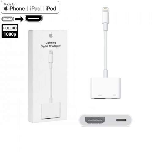 Cáp Apple Lightning to HDMI Adapter...