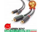 CÁP AUDIO RCA 1M UGREEN 30747