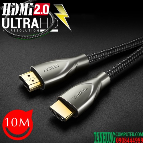 Cable HDMI 2.0 Dài 10m Ugreen 50112...