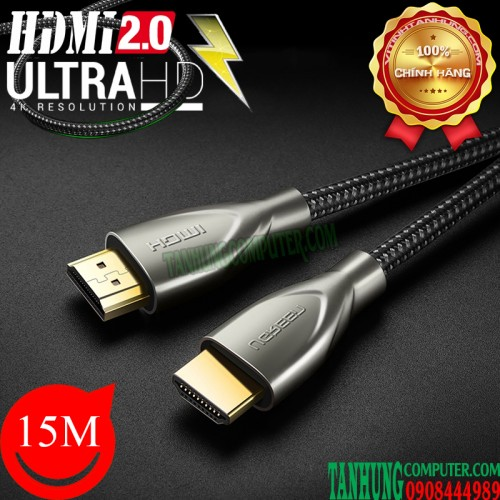 Cable HDMI 2.0 Dài 15m Ugreen 50114...