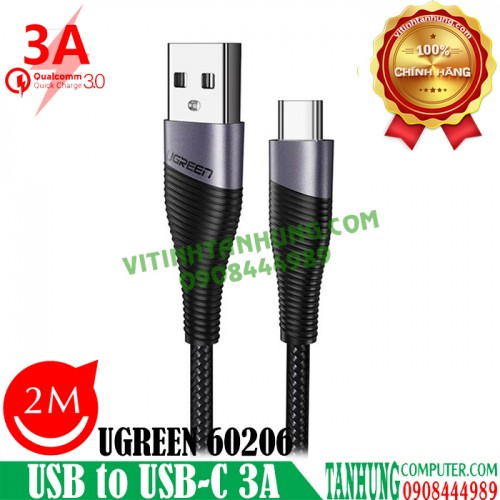 Cáp USB to USB-C Data Cable 3A Alun...