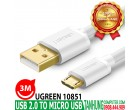 USB 2.0 TO MICRO USB 3M UGREEN 1085..