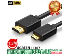 MINI HDMI TO HDMI UGREEN 11167
