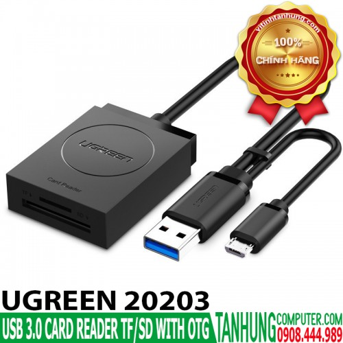 USB 3.0 Card Reader Ugreen 20203 TF...