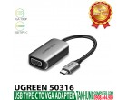 USB-C TO VGA UGREEN 50316