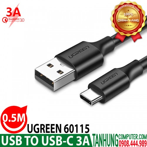 Cáp USB to USB-C Ugreen 60115 Cable...