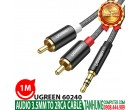 AUDIO 3.5MM TO 2 RCA UGREEN 60240