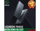 MATRIX HDMI 2.0 4 IN 2 OUT UGREEN 7..
