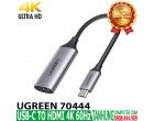 USB-C TO HDMI 4K 60Hz UGREEN 70444