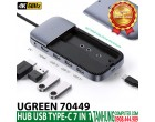 HUB USB TYPE-C 7 IN 1 UGREEN 70449