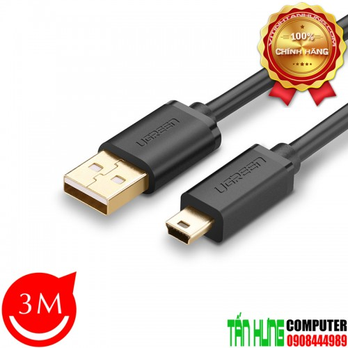 Cáp Mini USB to USB 2.0 Ugreen 1038...
