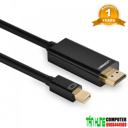 Cáp Mini DisplayPort to HDMI 3m Ugr...