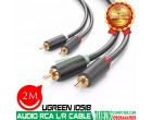 CÁP AUDIO RCA 2M UGREEN 10518