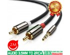 AUDIO 3.5MM CABLE TO 2RCA UGREEN 10..