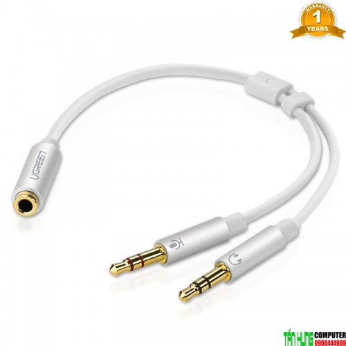 Ugreen 10790 - Cáp Gộp Audio 3.5mm ...