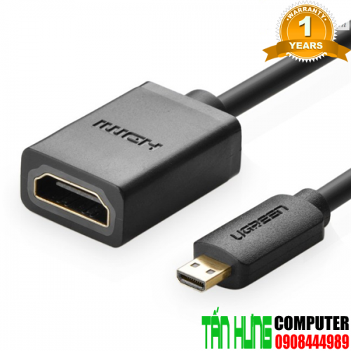 Cáp Micro HDMI to HDMI Female dài 2...