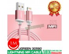 LIGHTNING MFI CABLE 1M UGREEN 30590..