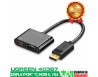 DISPLAYPORT TO HDMI/VGA UGREEN 4036..