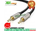 CÁP AUDIO 3.5MM 5M UGREEN 40783