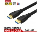 HDMI 2.0 CABLE 4K@60HZ UNITEK C1104..